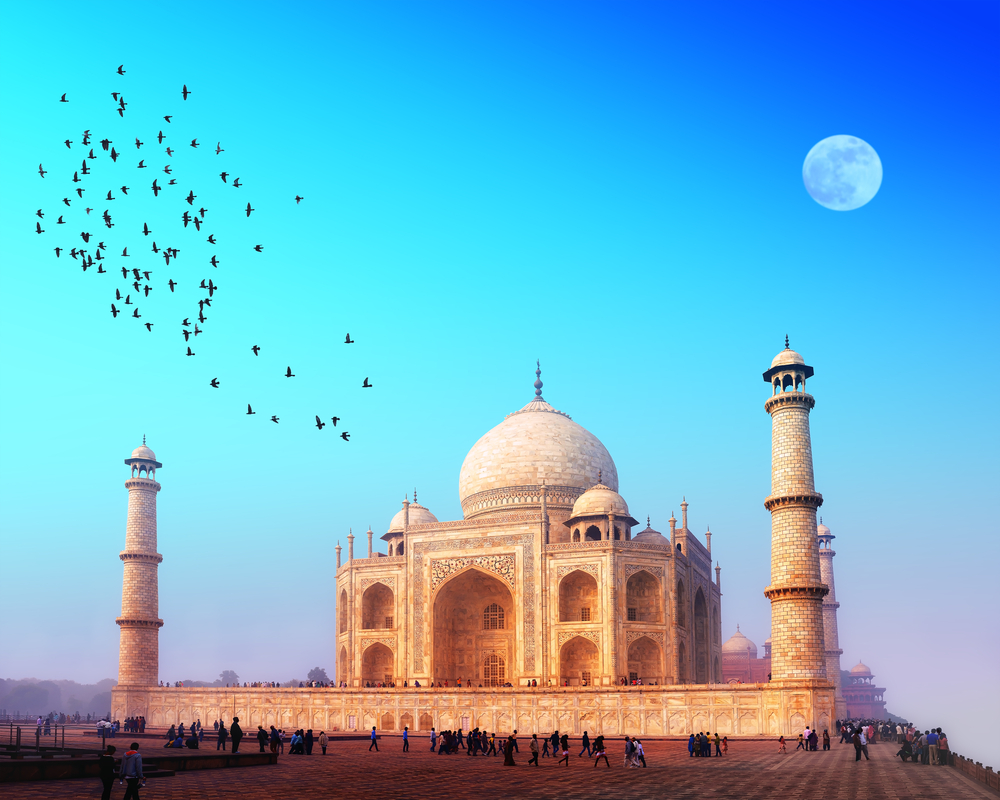 Mughal architecture sites in India