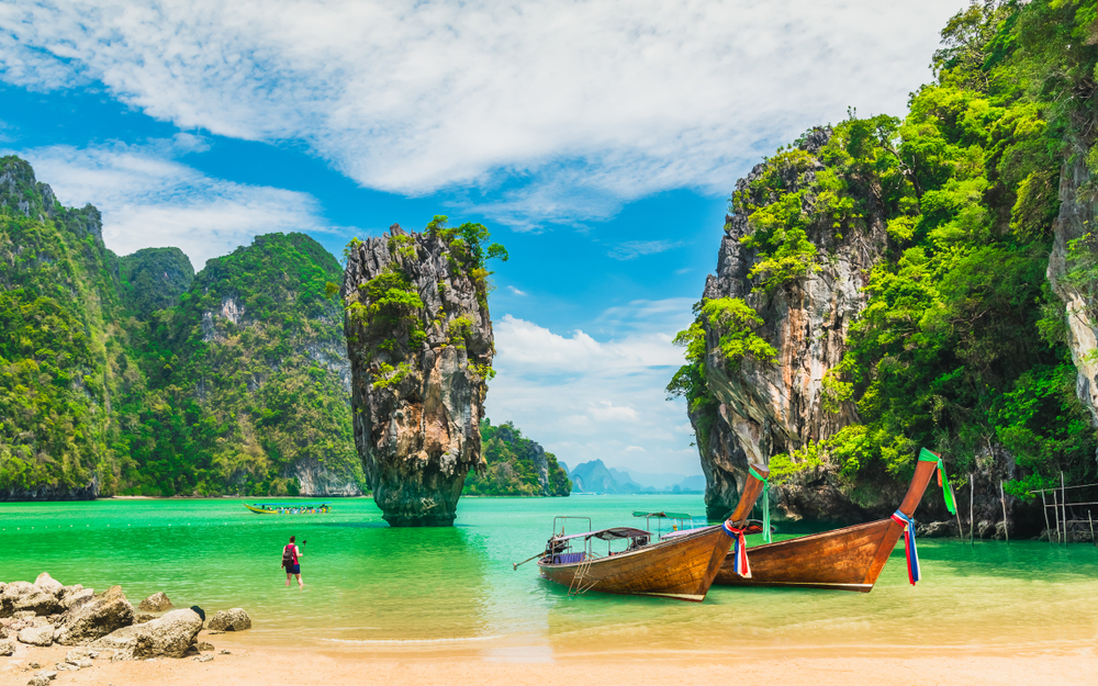 5 popular Islands in Thailand are open to tourists from August 2020